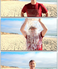 Ice Bucket Challenge: Фил Шиллер облился водой
