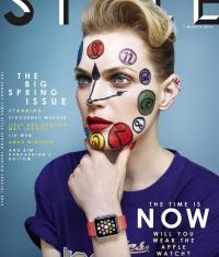 Apple Watch на обложке модного журнала Style