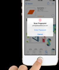 Apple все-таки будет сохранять отпечатки пальцев пользователей