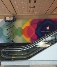 Apple уже подготовила Moscone West к конференции разработчиков